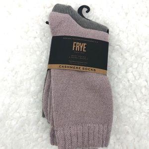 NWT Frye 2pk Women's Cashmere Boot Socks SZ 5-10
